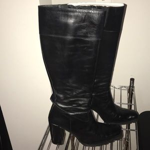 Donald Pliner knee high boots